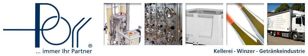 Artur Porr GmbH - Fachgroßhandel für Kellereibedarf